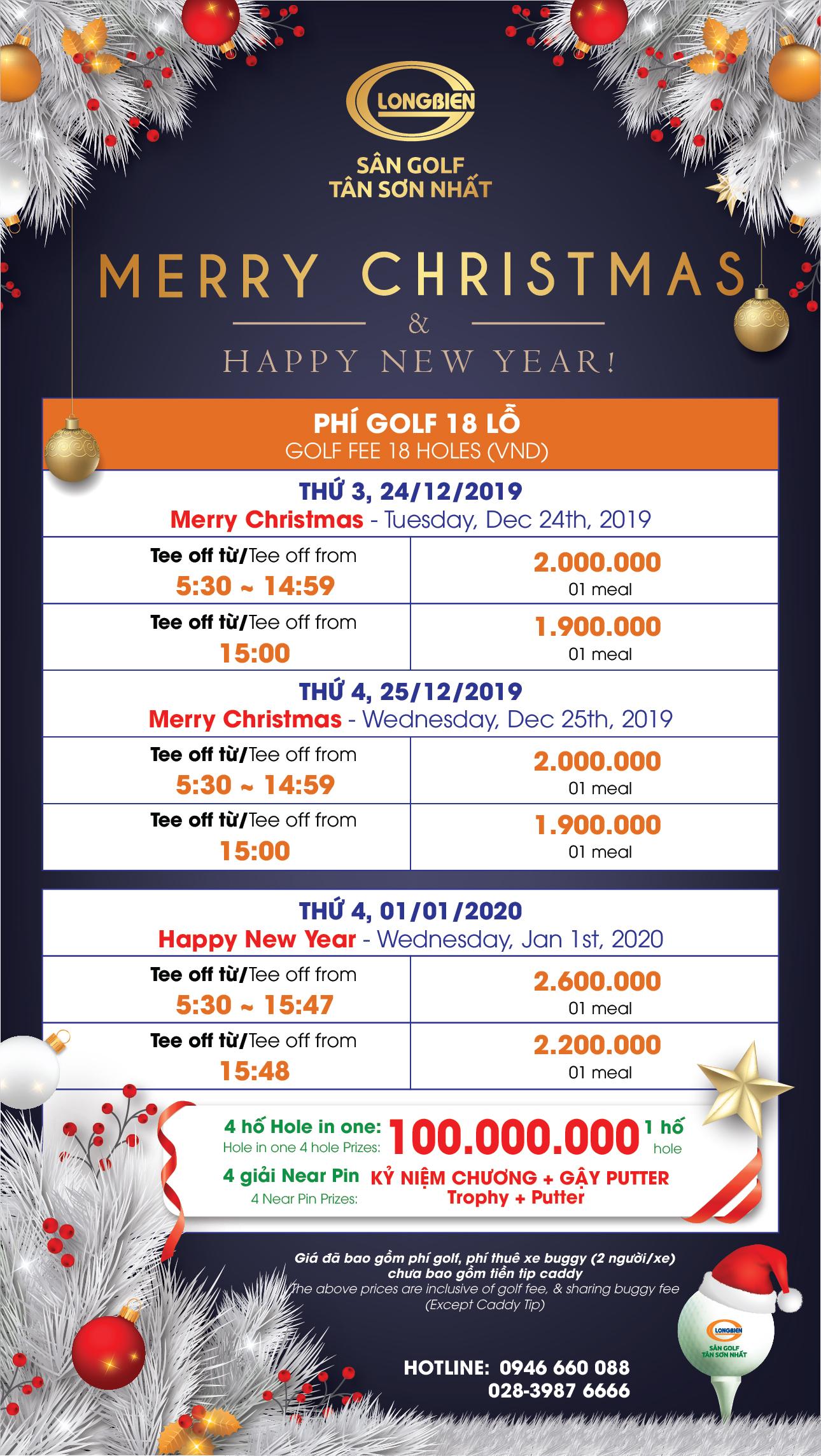 CTKM  Mừng Giáng Sinh 2019