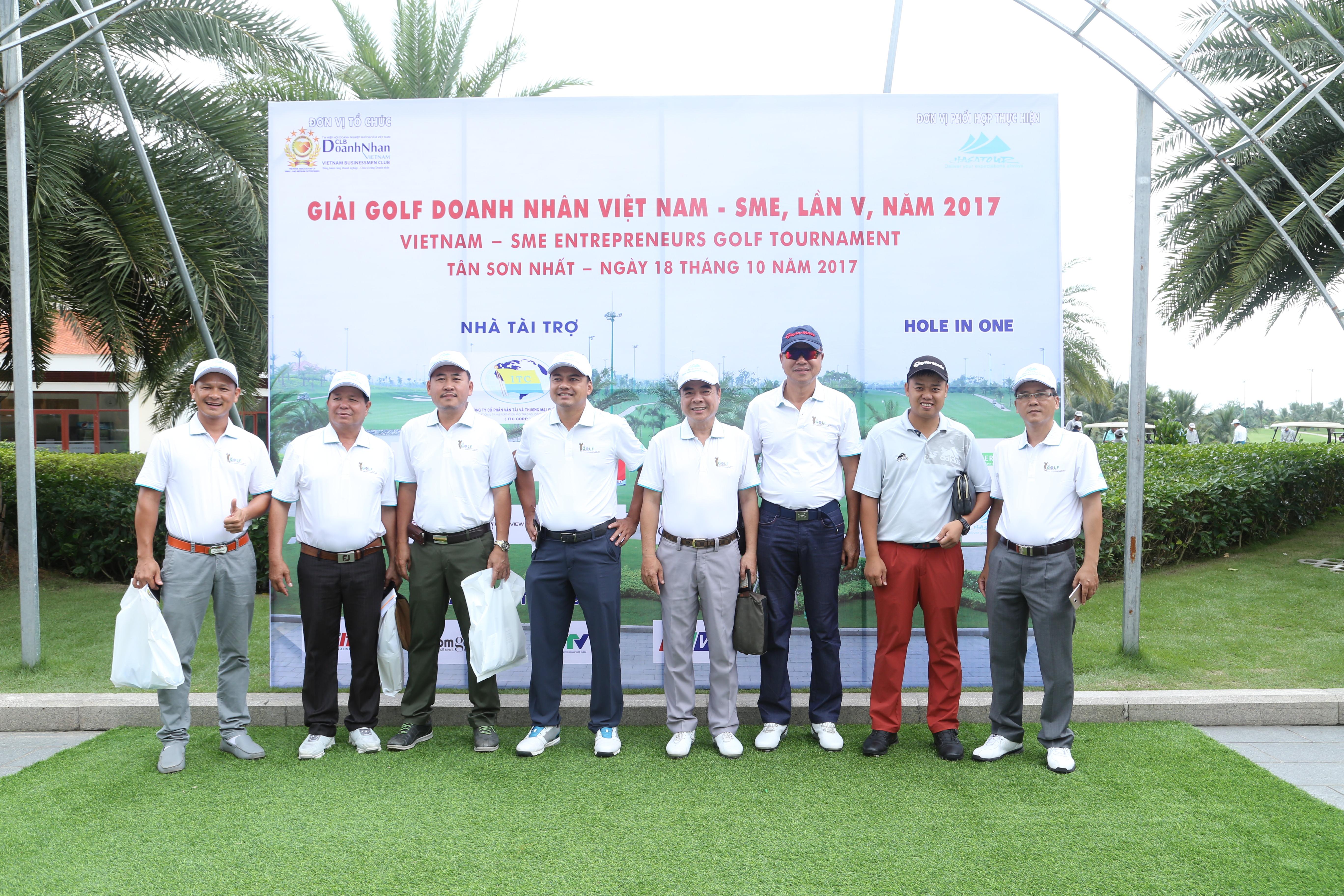 Giải Golf Doanh Nhân Việt Nam - SME, Lần 5, Năm 2017