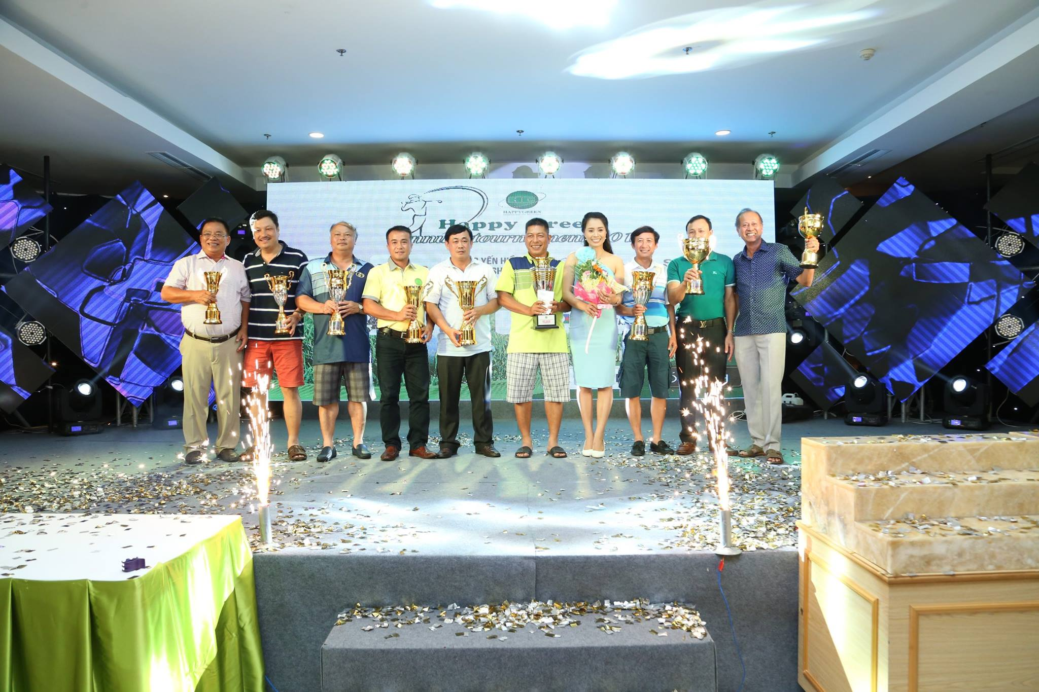 Giải golf HAPPY GREEN ANNUAL GOLF TOURNAMENT 2017