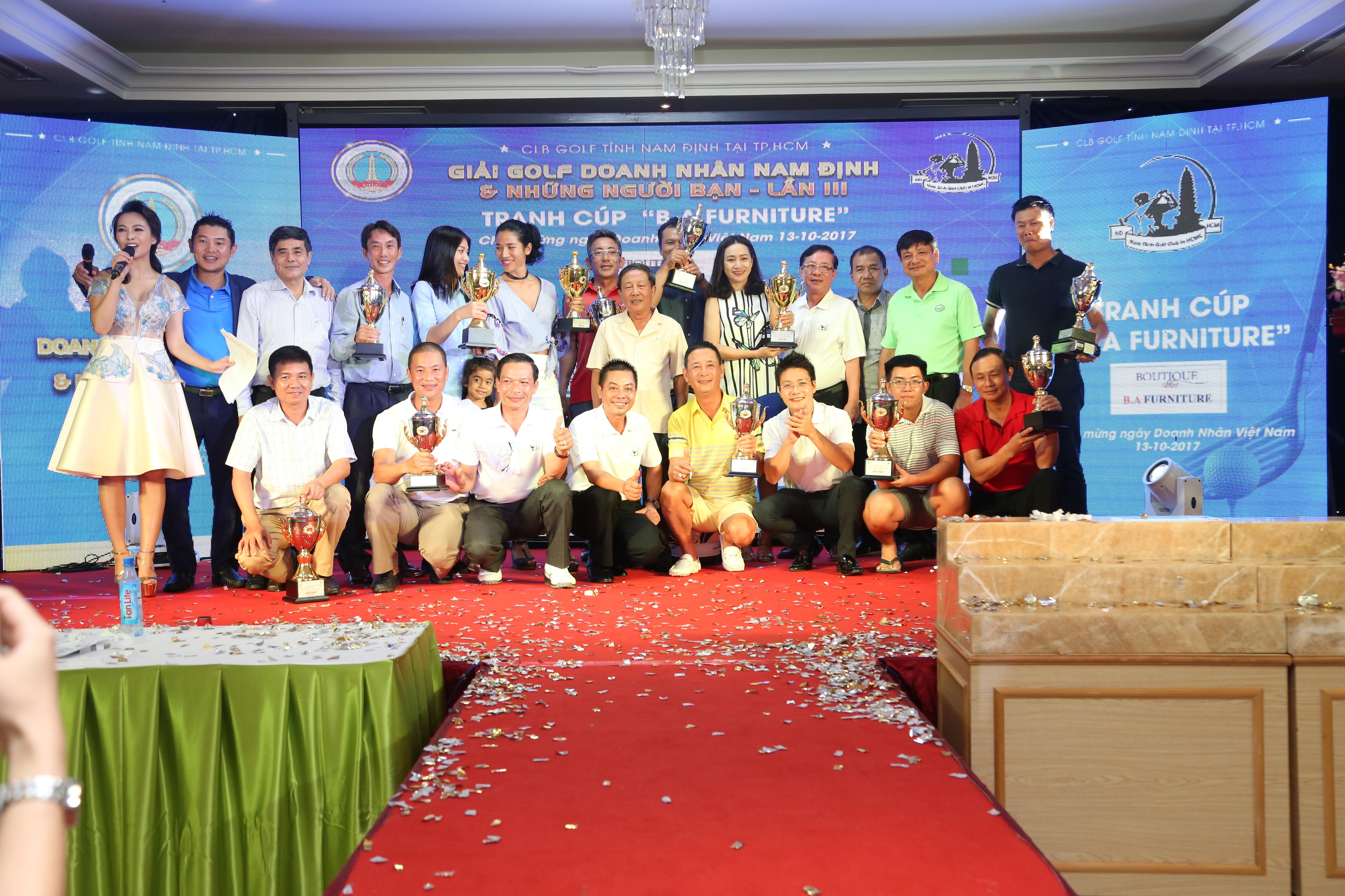 Giải Golf Doanh Nhân Nam Định & Những Người Bạn